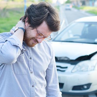 vehicle accident neck injury